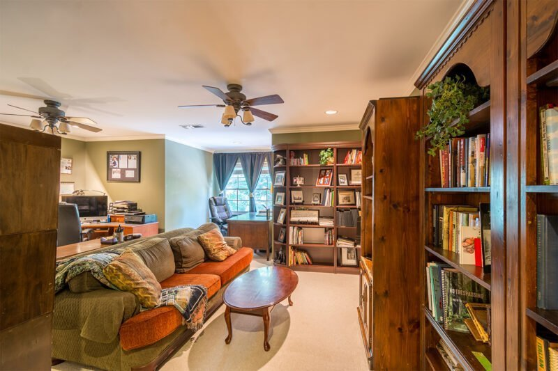 Home office at Greystone real estate property