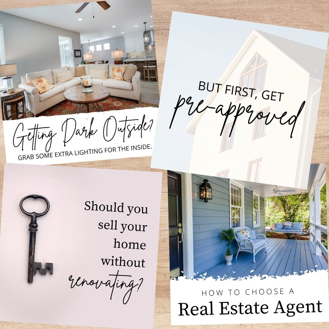 Real estate social media content